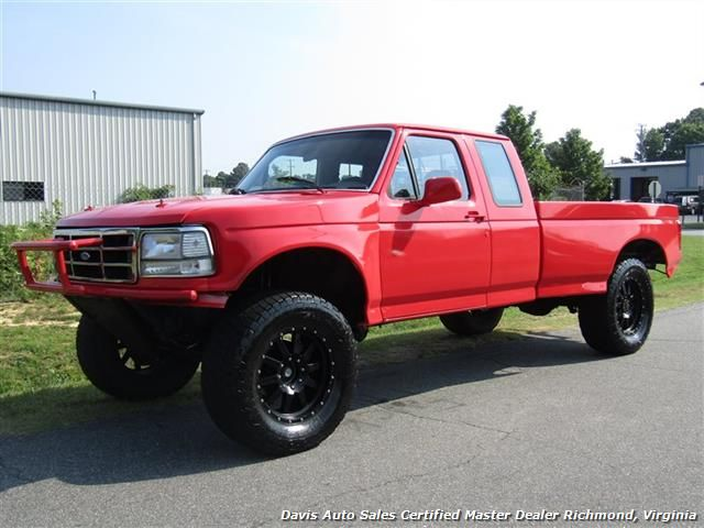 1996 Ford F 250 Hd Xlt Obs Classic Lifted Extended Cab Long Bed 7 995 Visit Us At Www Davisautosales Com Or Www Davis4x4 Com For More Extended Cab Ford F250