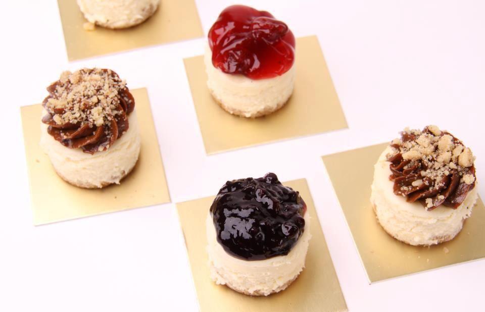 #Mini-CheeseCakes  #SweetMilk #Blueberry #Cherrie #Delicious!