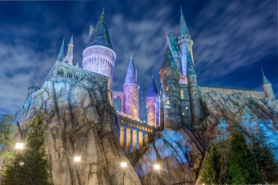 Hogwarts Castle at the Wizarding World of Harry Potter Orlando