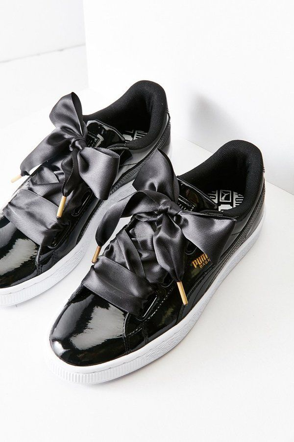 ec2dd499a3e Puma Basket Heart Patent Leather Sneaker