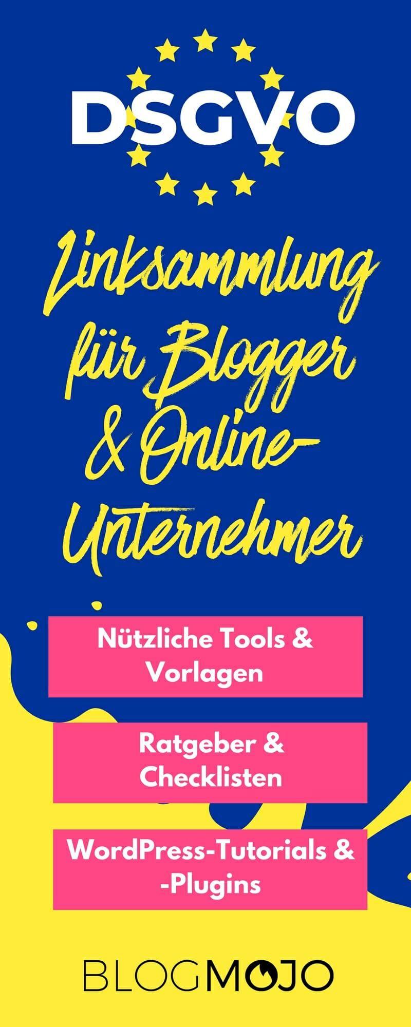 DSGVO-Linksammlung: 50+ nützliche Artikel, Tools und Vorlagen ...