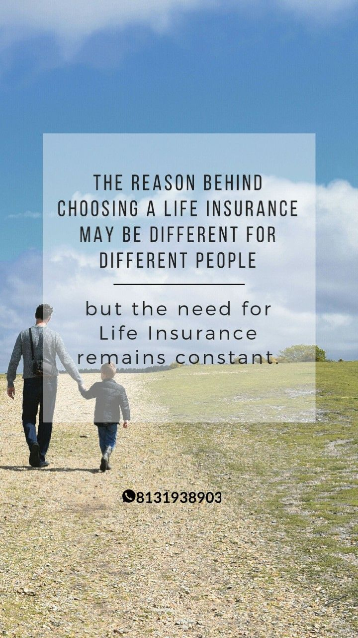 The need for life insurance remains constant #insurancequotes