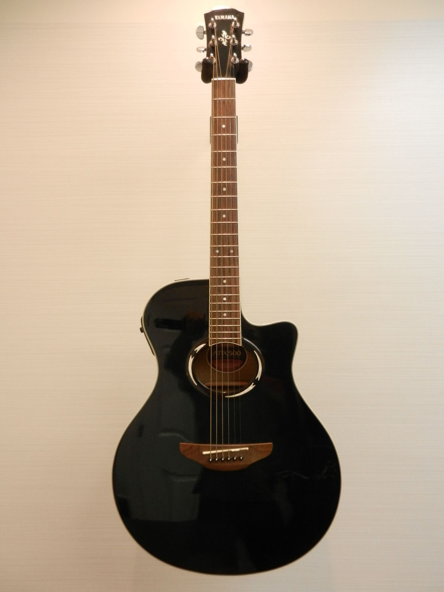 Yamaha Apx500 Acoustic Electric Guitar Black With Gig Bag Acoustic Electric Guitar Guitar Guitars For Sale