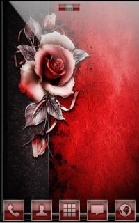 Red Rose For Android Theme Mobile Theme Android Theme Red Roses Theme