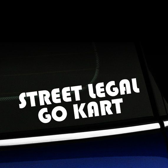 Straat Juridische Go Kart Sticker Go Kart Mini Cooper Ford Trucks