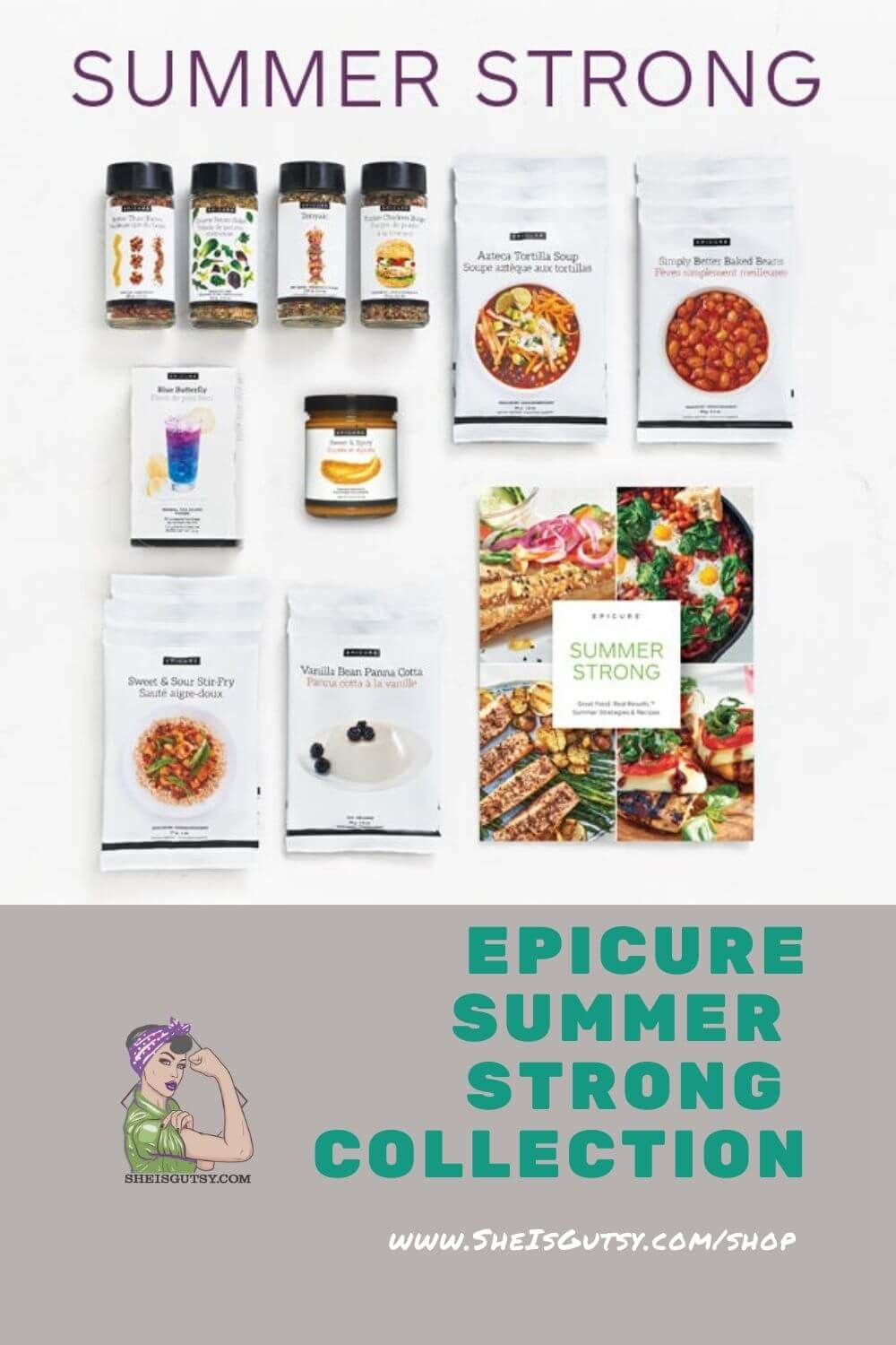 Summer Strong Collection in 2020 Epicure recipes