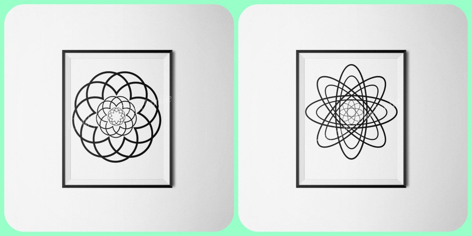 printable coloring pages spirograph coloring pages adult coloring pages color your own wall
