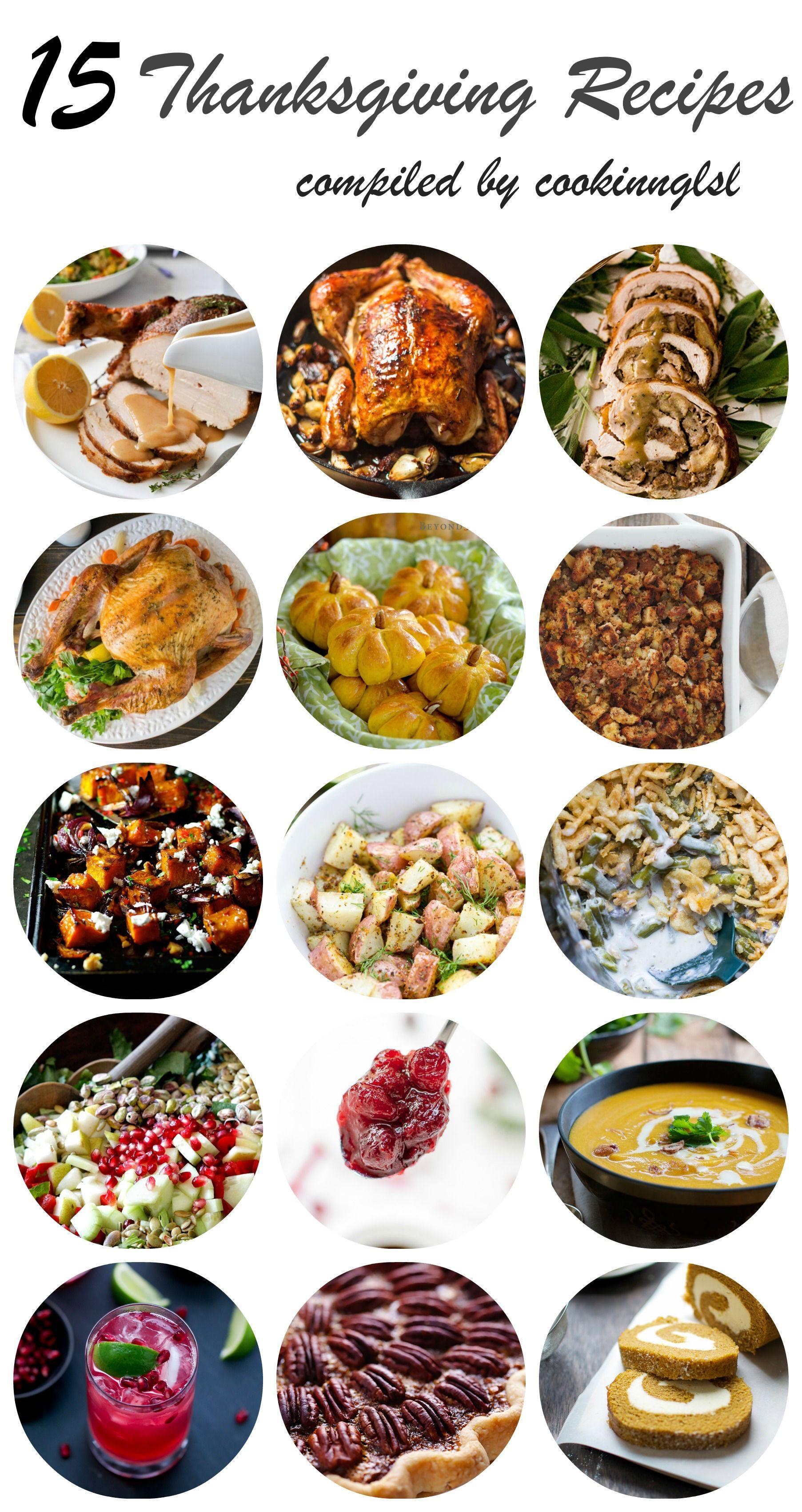 15 Thanksgiving Recipes