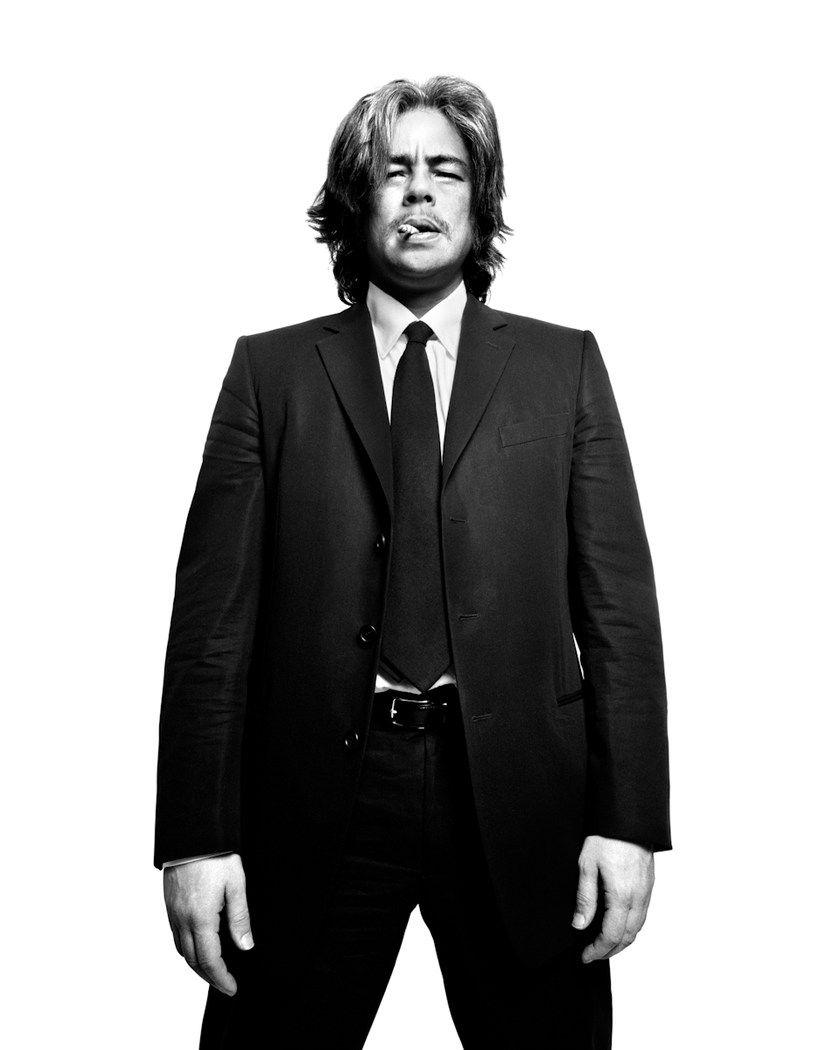 Benicio Del Toro brought horror to Russia 02.02.2010 6