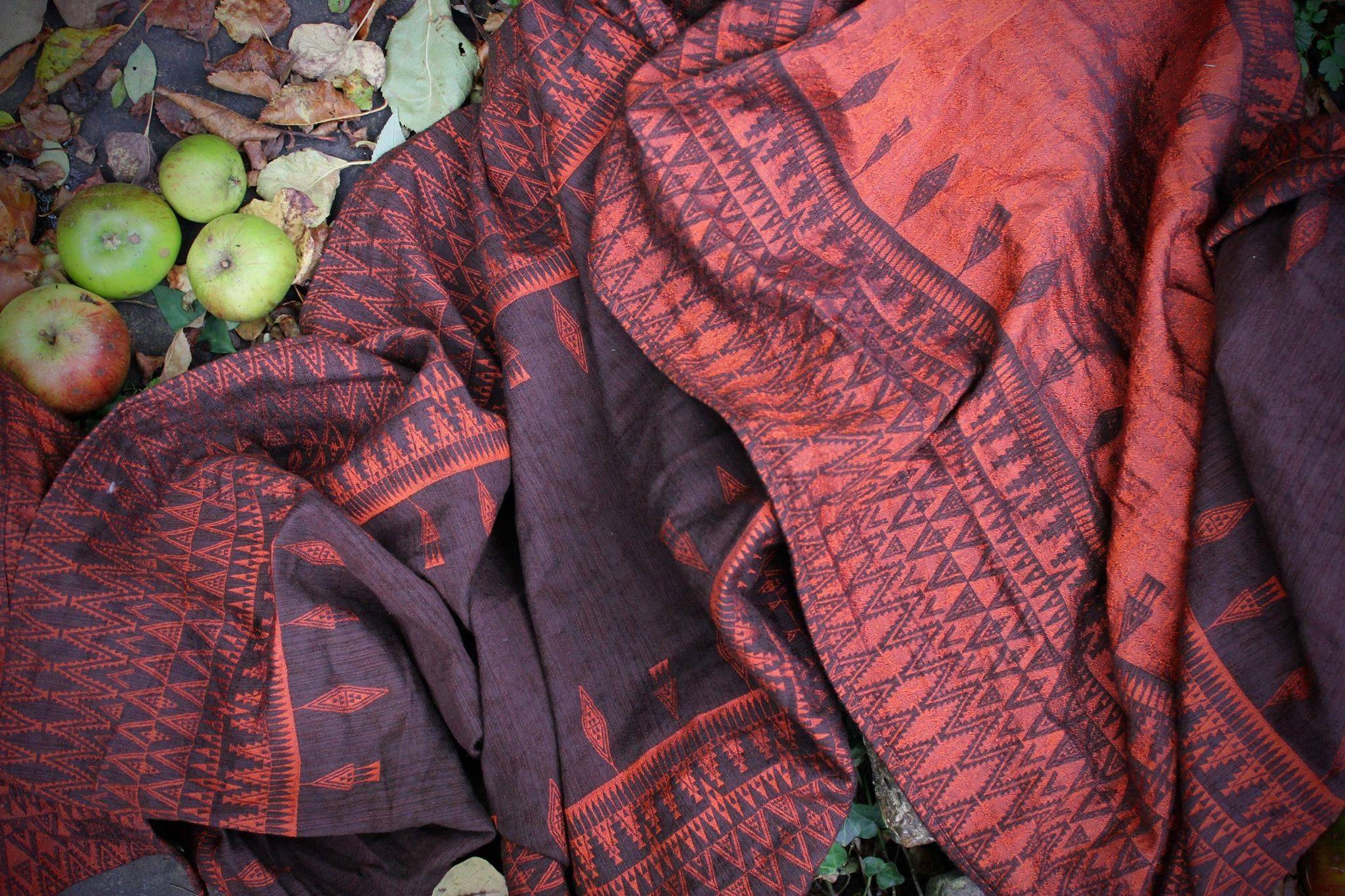 Lawilde Banjara Cocoa Wrap (merino, mulberry silk) Image