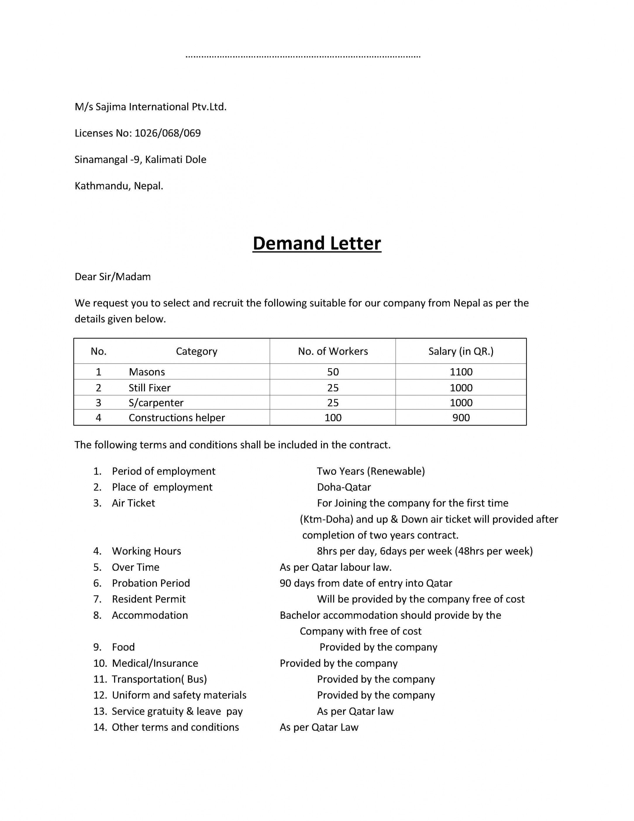 Explore Our Sample Of Subrogation Demand Letter Template For Free