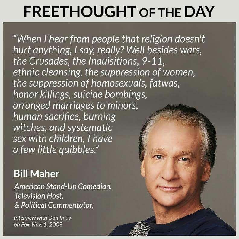 Bill Maher on religion