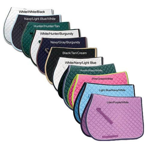 Riders International Quilted Pad W Piping Dover Saddlery Saddle Pads Saddle Pads English Saddleseat Riding