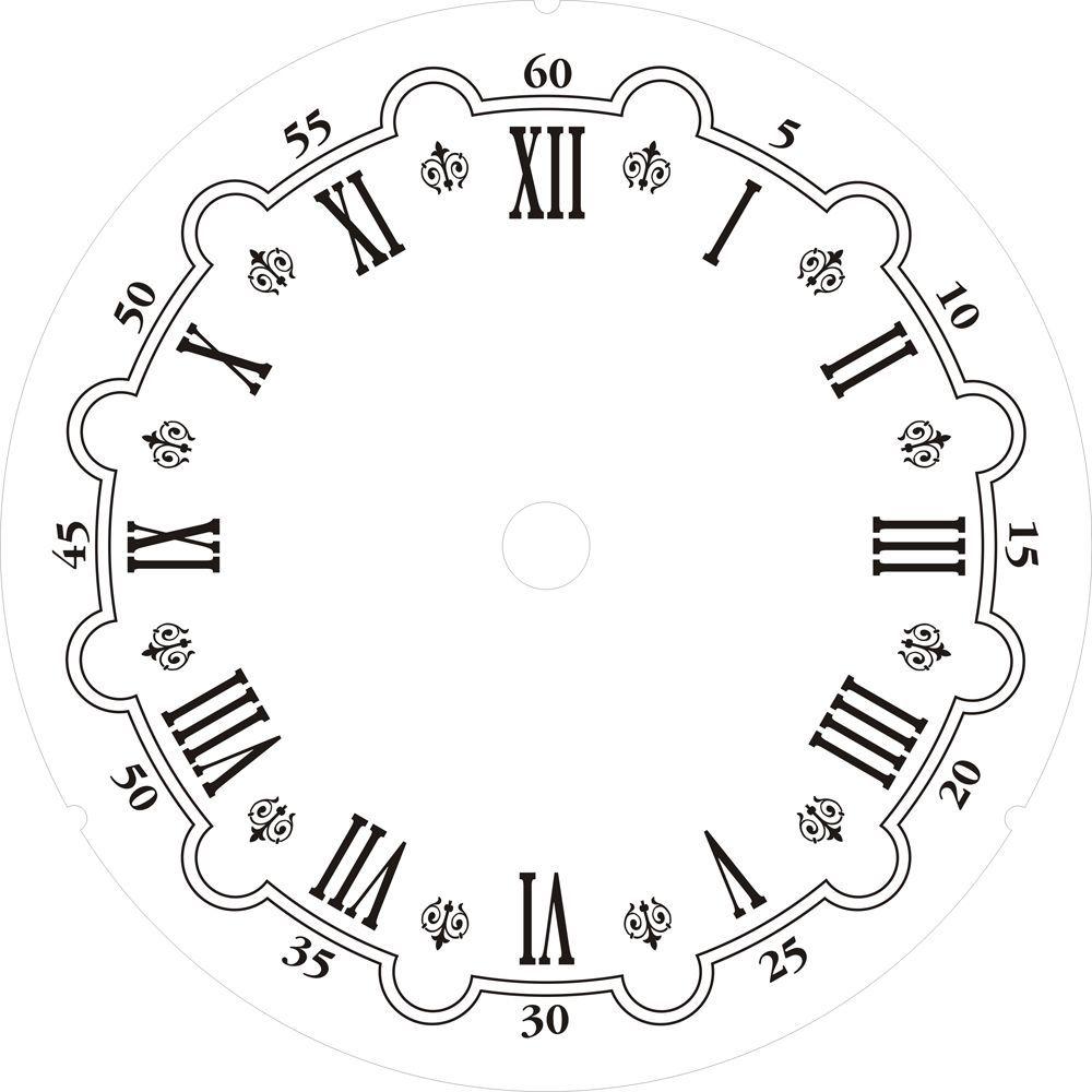 carte per decoupage free quadranti per orologi