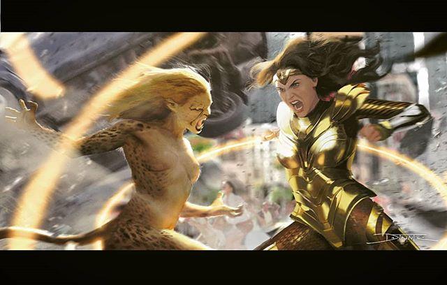 Cheetah Vs Shiny Wonder Woman Wonderwoman1984 Wonderwoman84 Wonderwoman Cheetah Kristenwiig Galgadot Dccomics Dccinematic