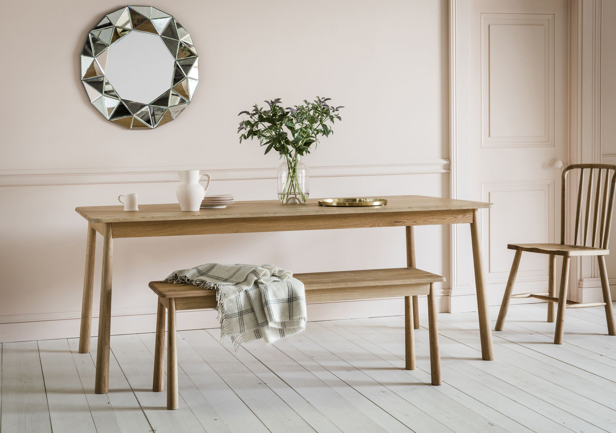 Searching For A Scandi Style Dining Room Have Look At Perch Parrow S Rebecca Table