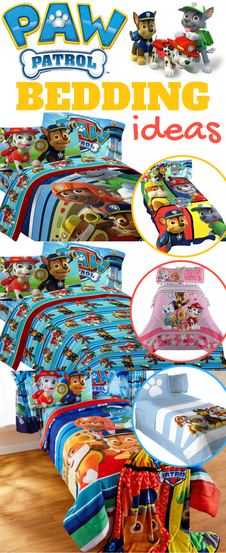Paw Patrol Bedding, Pillows and Throws From $20 @ Walmart ...