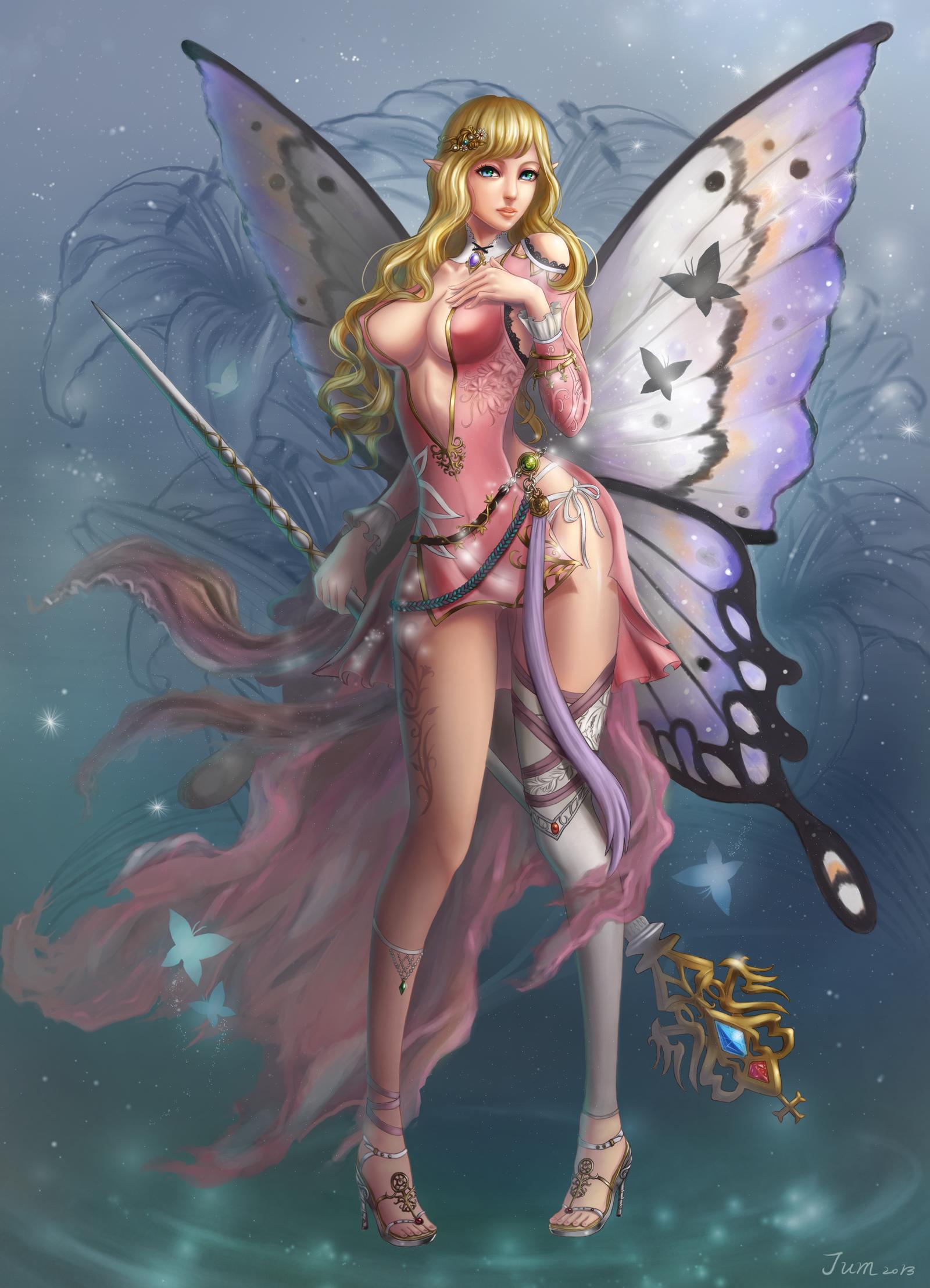 butterfly fairies fantasy art butterfly fairy by jum0107 on