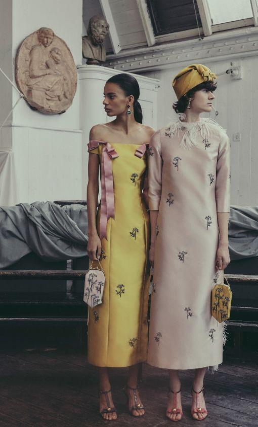 Erdem Pre-Fall 2019 Fashion Show #editorialfashion