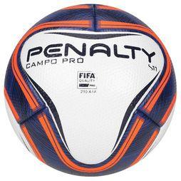 ad60e80a8f Bola Futebol Penalty S11 Pro VI Campo - Branco+Marinho
