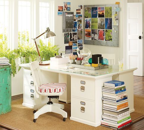 Bedford 70 Desk With Drawers Home Office Organization Home Office Design Office Desk Decor