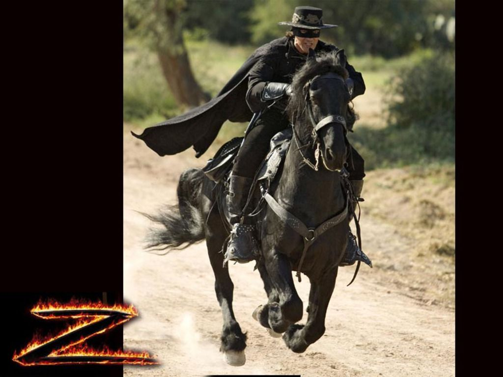 Zorro Antonio Banderas On Horse Saw this horse at our ...