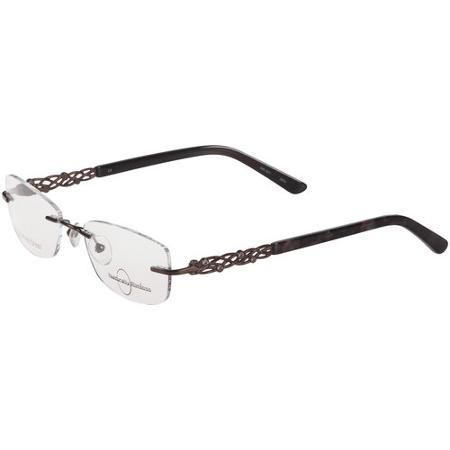 Naturally Rimless Women\'s Eyeglass Frames, Brown | Glasses Frames ...