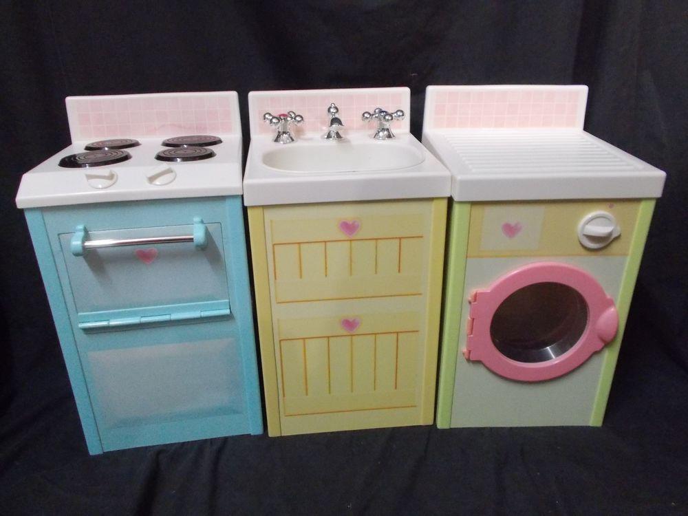 playskool rose petal cottage kitchen stove sink dryer lot toys rh pinterest com Rose Petal Lips Rose Petal Movie