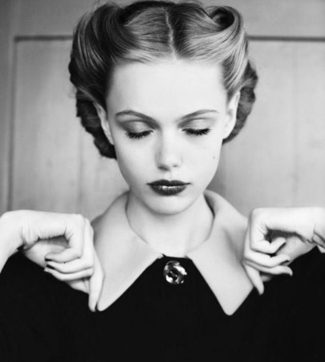 Frisuren Frauen 40er Vintage Frisuren Frisuren 1940er Frisuren