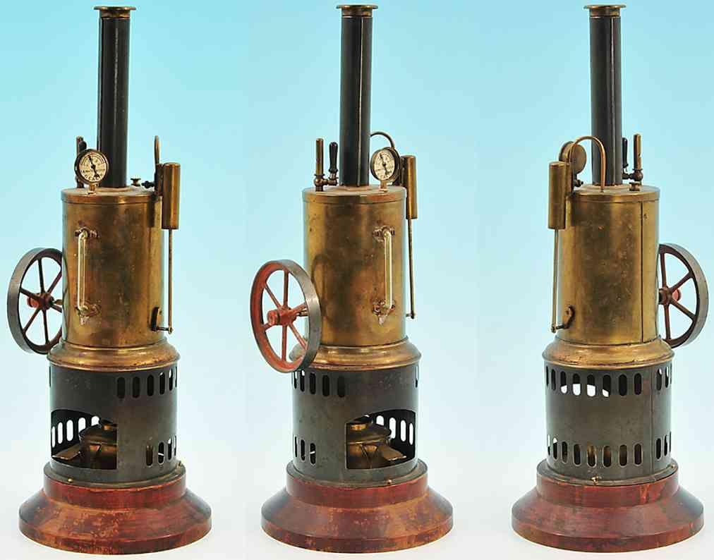 Manufacturer: Carette Kind of toys: Steam Toys Vertical-Steam ...