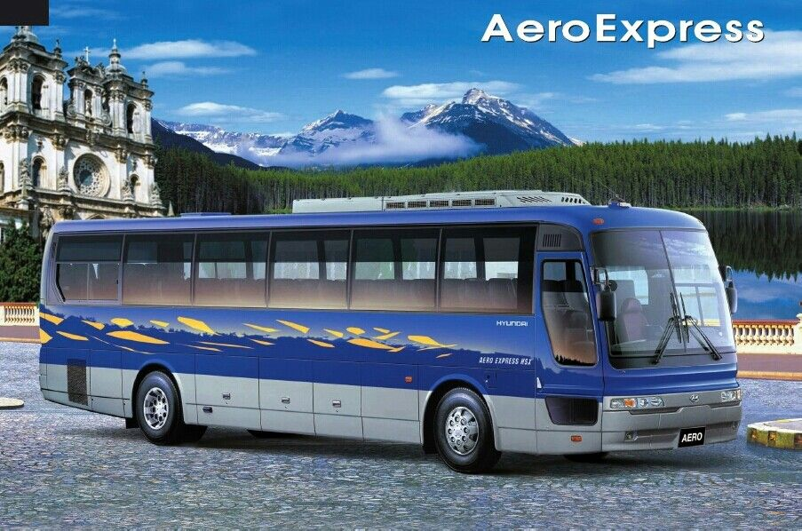 The Hyundai Aero Express Tour Bus