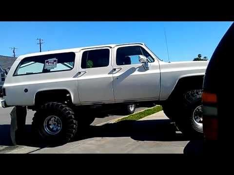 1974 Chevy Suburban Monster 4x4 On 44 S Chevy Suburban Chevy
