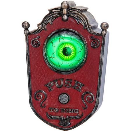 Animated Doorbell Eyeball Halloween Decoration Halloween - animated halloween decorations