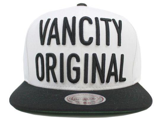 Stacked Snapback Cap by VANCITY ORIGINALS x MITCHELL & NESS