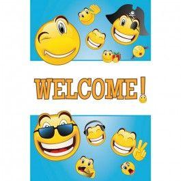 Emoji Party Supplies Emoticon Door Signs Decorations
