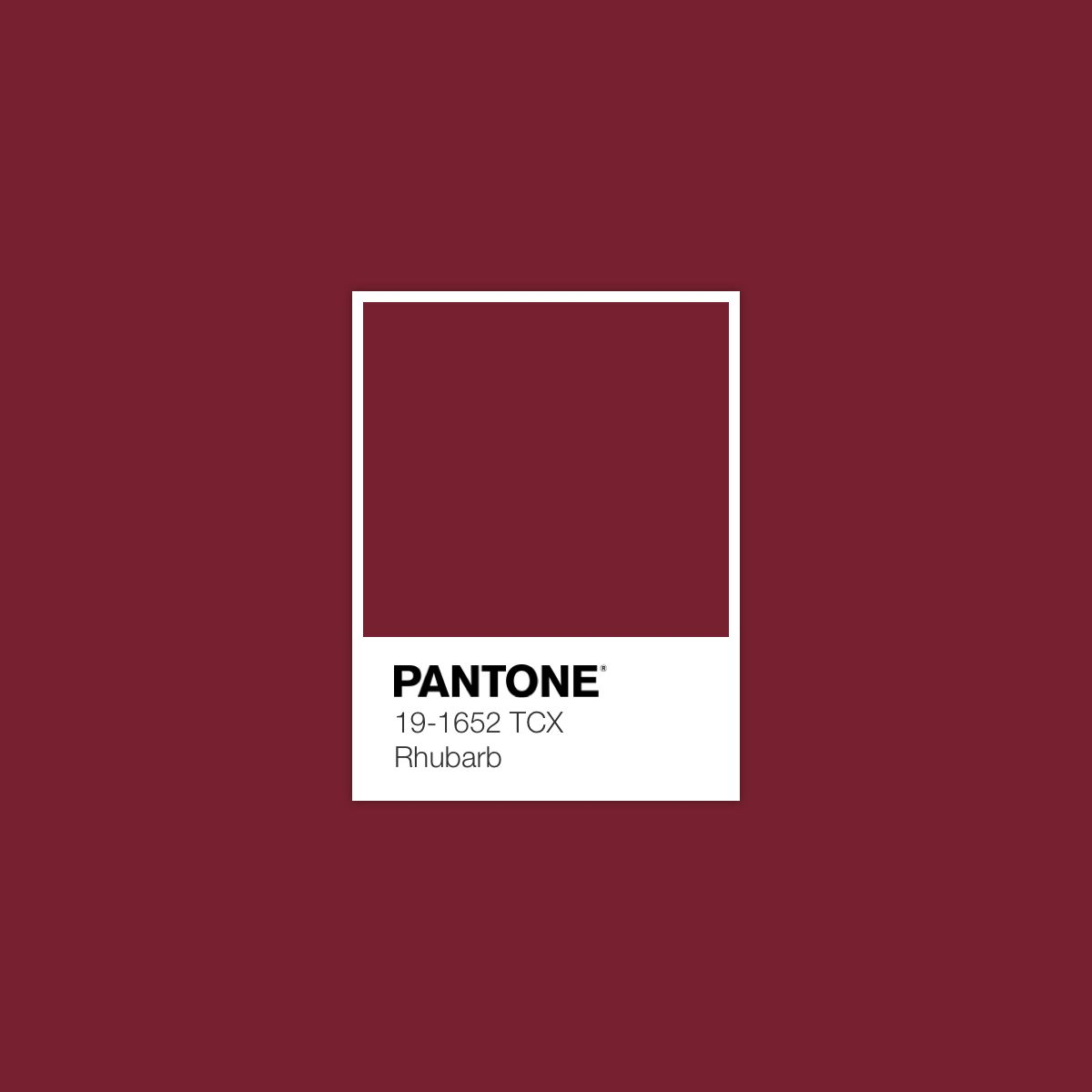 "94d212e2 ""Rhubarb"". Pantone Red, Pantone Paint, Pantone Colours, Paint Color Schemes"