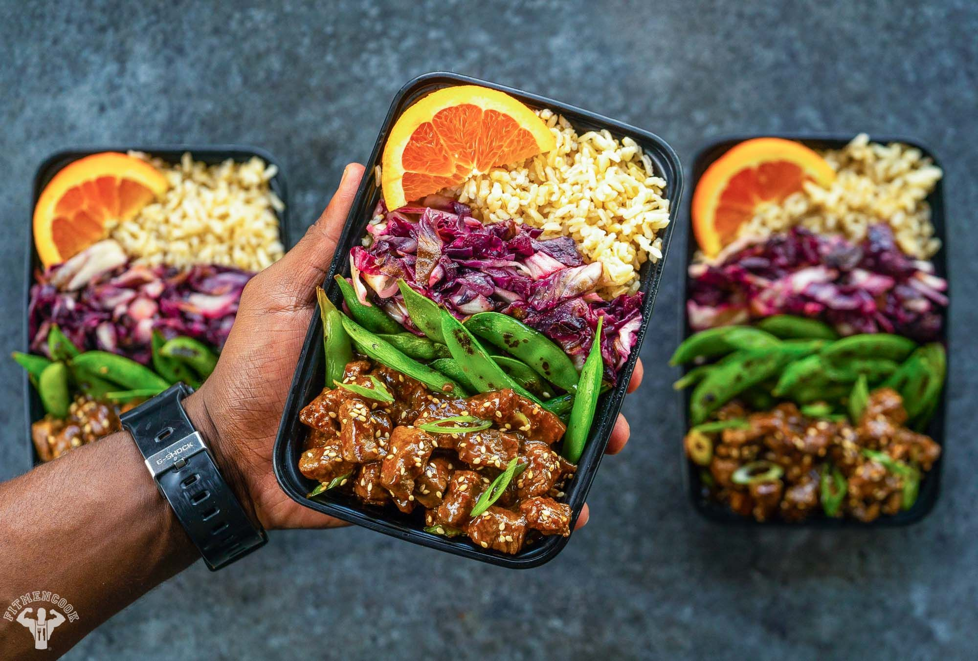 See How To Meal Prep Sweet And Spicy Beef Recipe This Beef Meal Prep Is Perfect As A Post Workout Meal Workout Food Meal Prep Clean Eating Delicious Meal Prep