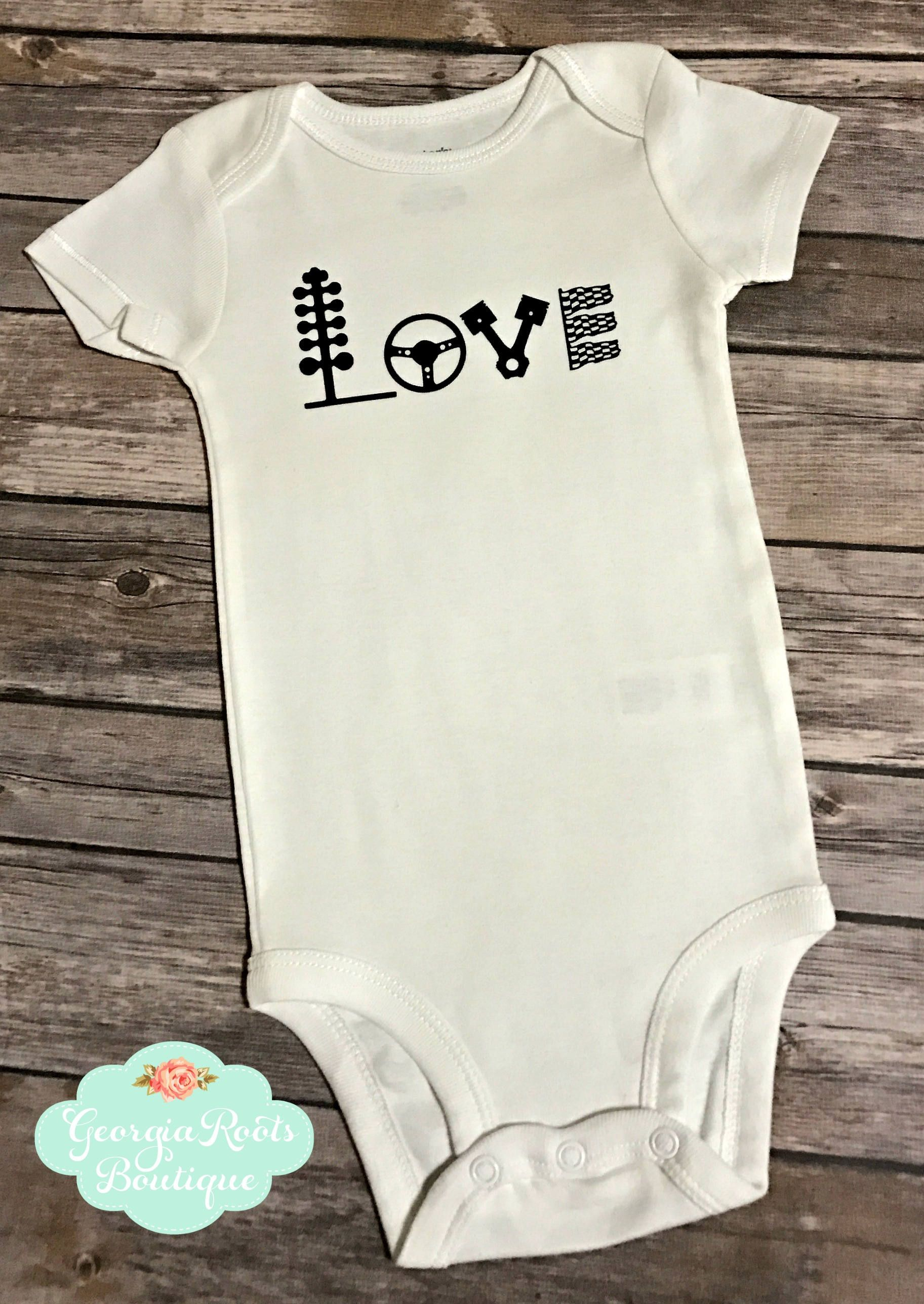 ba1aefc68ff Love Racing, Drag racing, Infant Baby Boy, Onesie, Bodysuit, Baby Shower