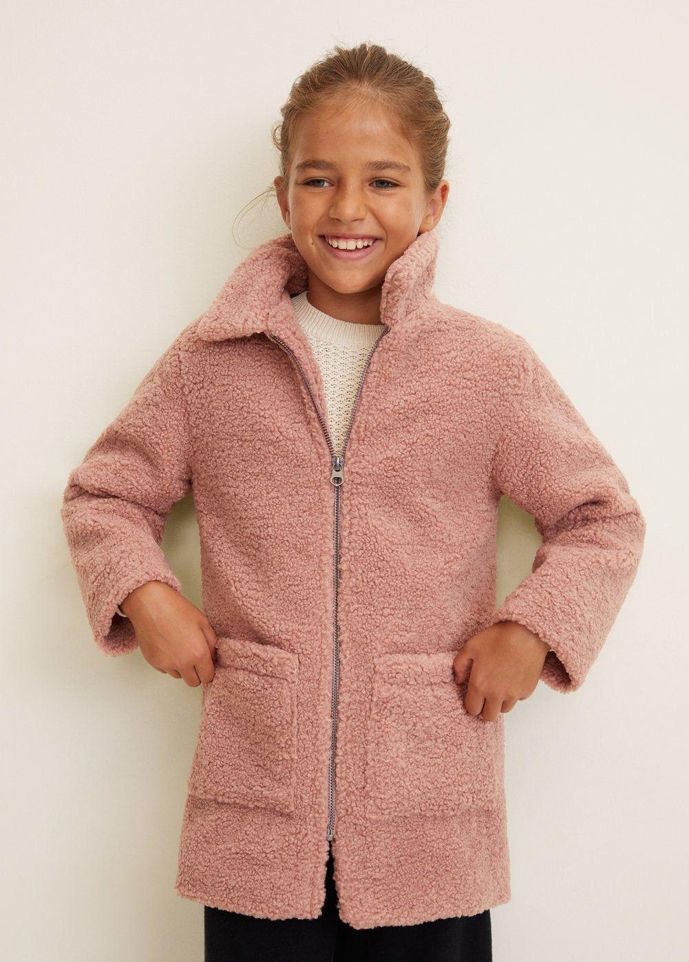 la meilleure attitude 20271 71a3c Manteau imitation mouton - Fille | Fille | Manteau, Robe et ...
