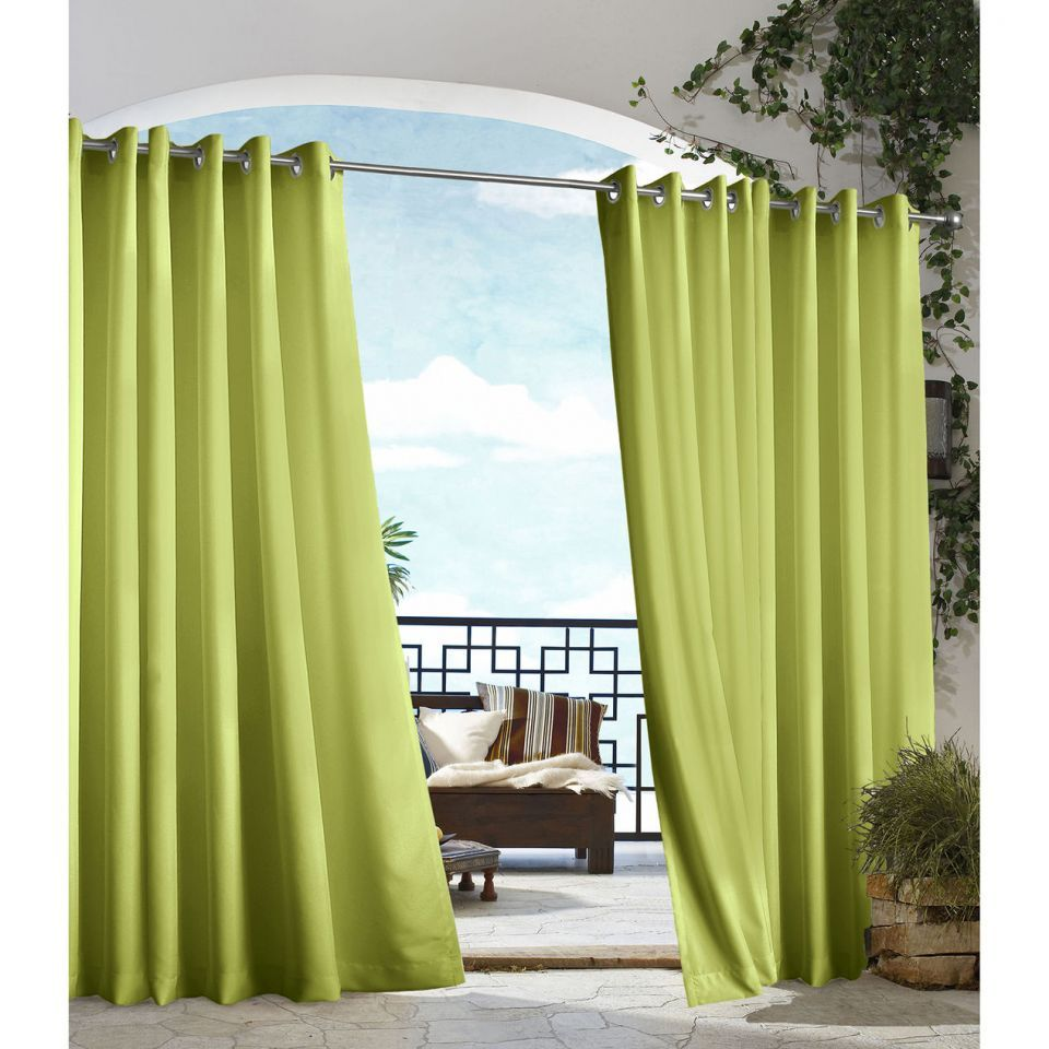 Outdoor Curtains U2013 Outdoor Drapes U2013 Outdoor Patio Curtains   Green