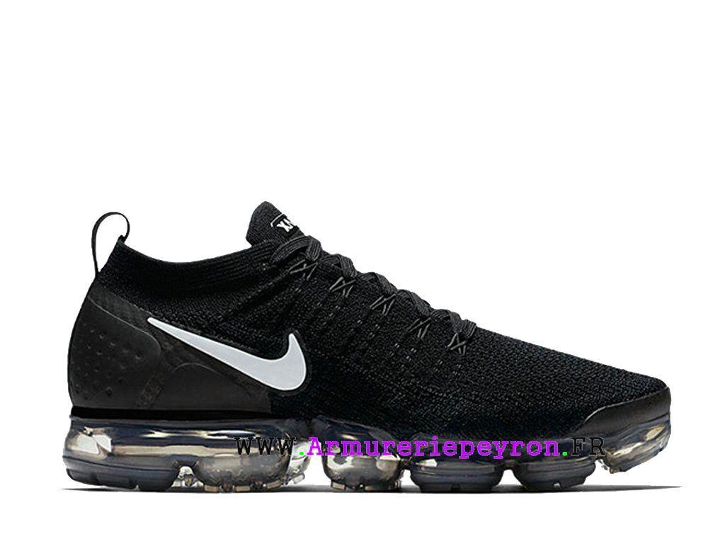 Acronyme x Nike Air VaporMax Moc 2 Chaussures de Basketball Prix Pour Homme  Noir Blanc 942842 bbc8c0068f69