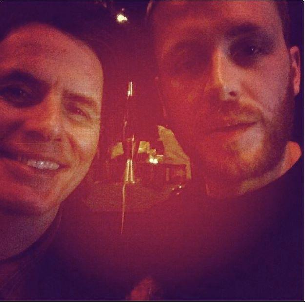 Flashback Friday: These two guys, 2014. #JohnTaylor, #MrHudson