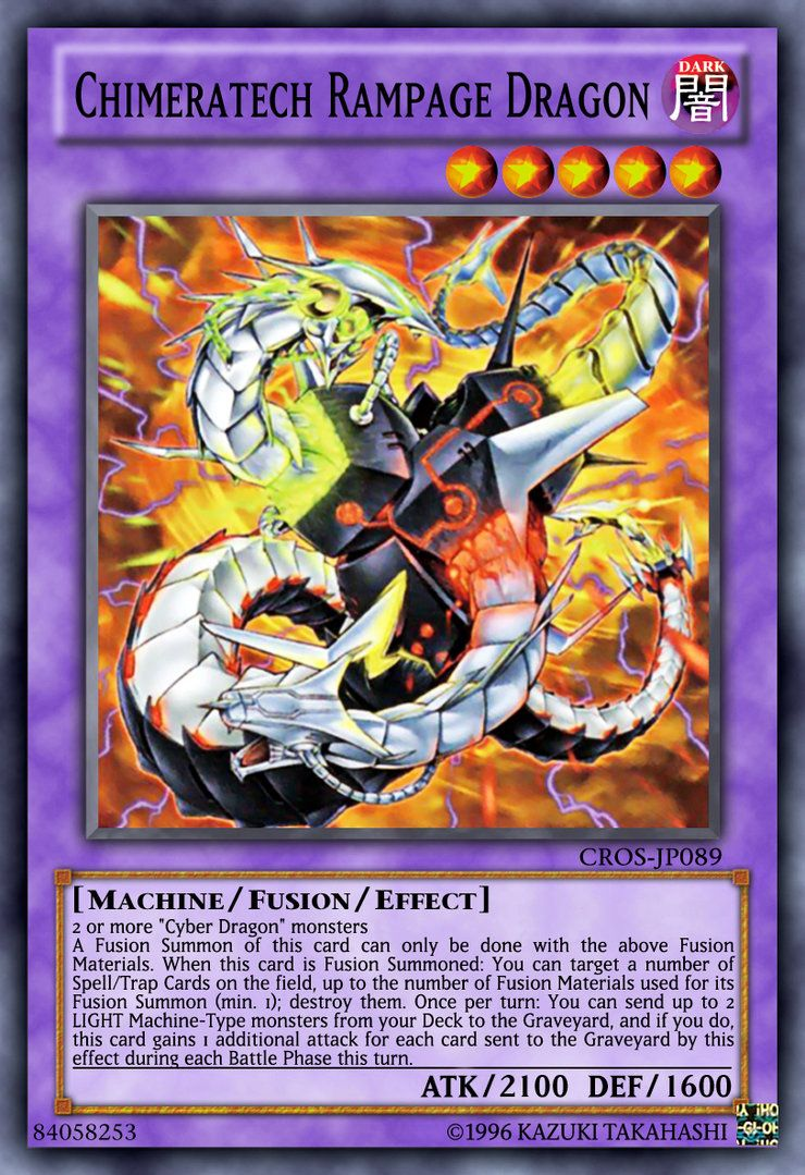 Chimeratech rampage dragon by on
