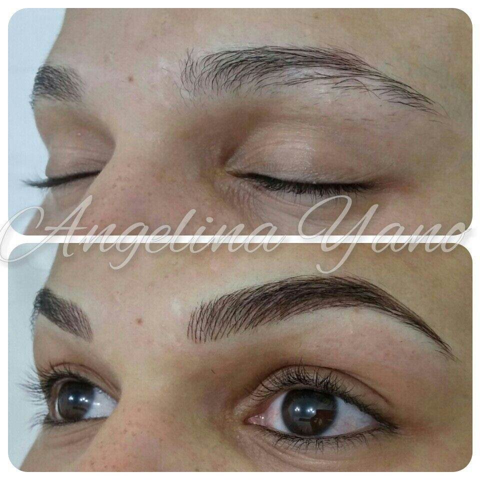 Eyebrows Hairstroke | Micropigmentau00e7u00e3o | Pinterest | Eyebrow Brows And Makeup