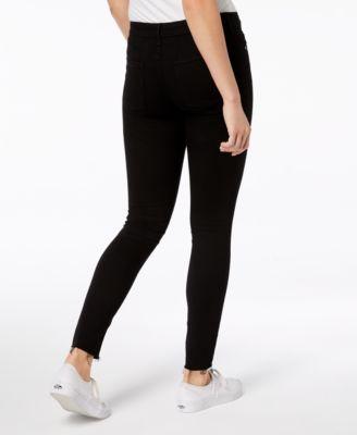 38c6dbaa43a7 Articles of Society Sarah Raw-Hem Ankle Skinny Jeans - Black 24 ...