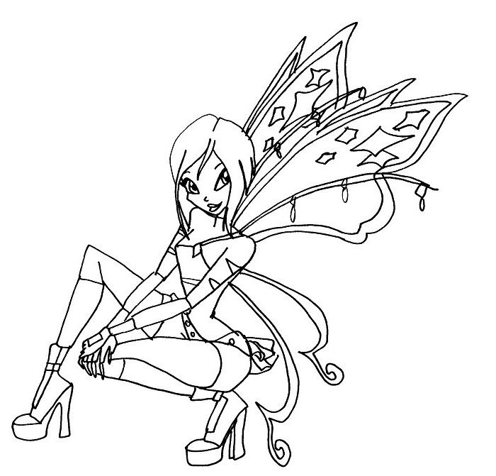 Winx Club Coloring Pages Google Search Tecna Coloring People