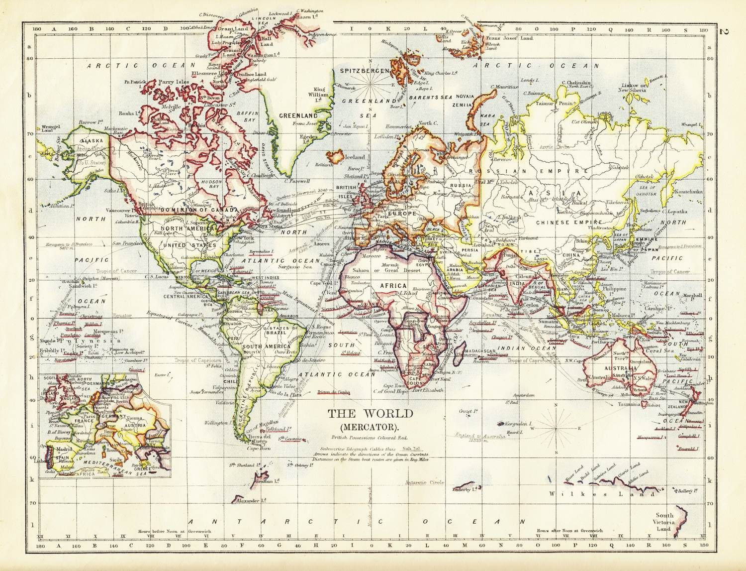 Old World Map Wall Mural World Map Wallpaper Old World Maps Map