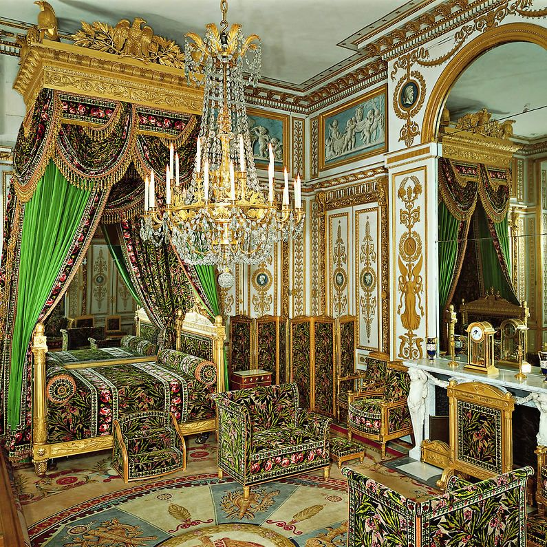 Ch teau de fontainebleau appartement int rieur la for Interieur baroque