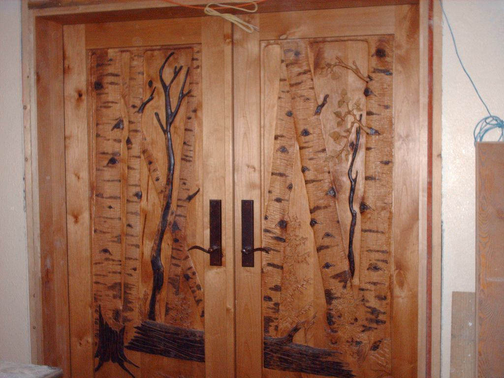 Hand carved doors masterpiece wood dream