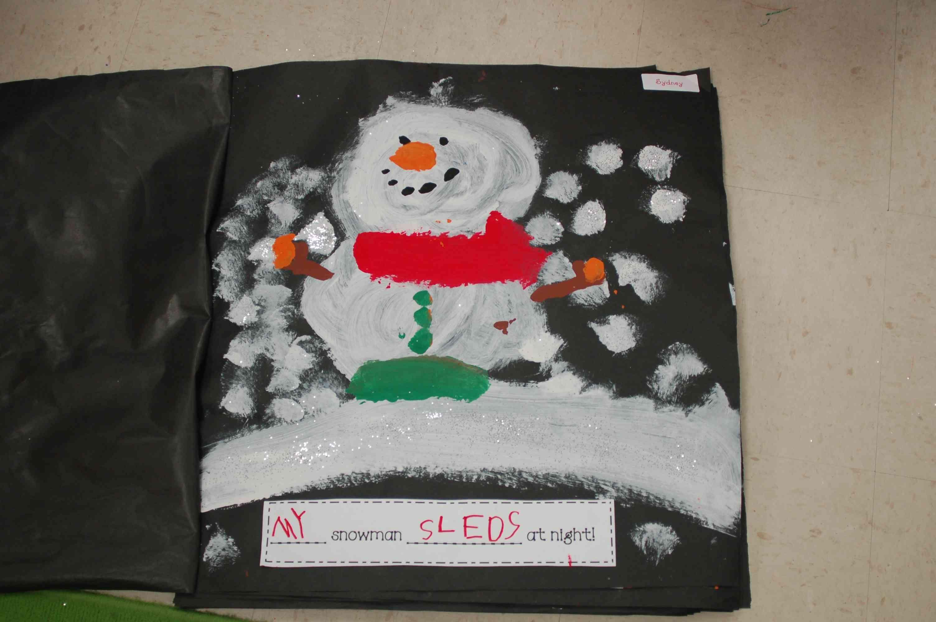Snowmen At Night Class Book My Snowman At Night